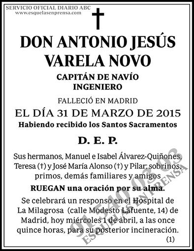 Antonio Jesús Varela Novo